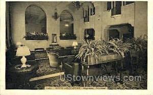 Lobby, Hotel Alexander Hagerstown MD Unused
