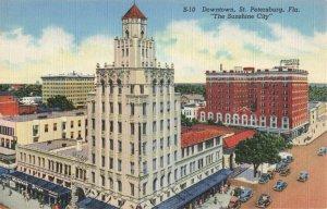 Postcard Downtown St Petersburg Florida