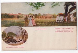 Guard Mount, Hotel Chamberlin, Fortress Monroe VA