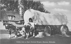 Kearney Nebraska~Golden Gate or Bust Covered Wagon~Buffalo County~Info Bk~1944