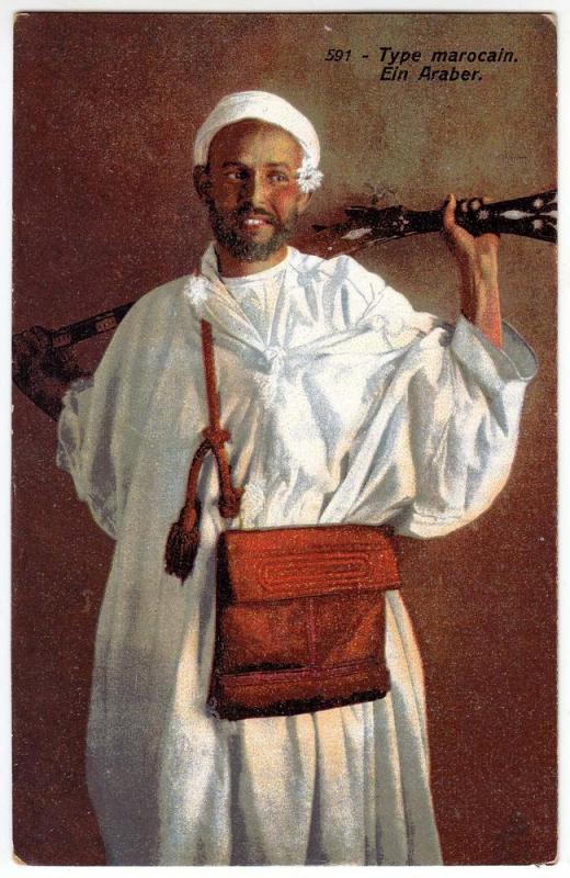 Type marocain Ein Araber