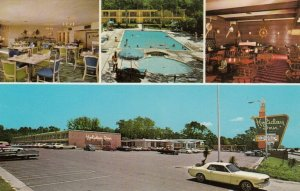 BILOXI , Mississippi, 50-60s ; Holiday Inn, Swimming Pool & Two Dining Areas