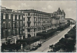 49732   CARTOLINA d'Epoca - FOGGIA citta' :   Viale XXIV Maggio 1954