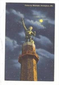 Vulcan by Moonlight, Birmingham, Alabama, PU-1942