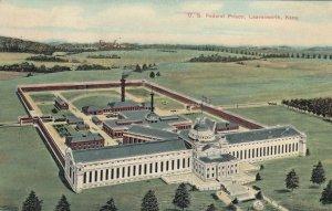 LEAVENWORTH , Kansas , 1906 ; U.S. Federal Prison