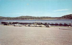 Branson Missouri 1960s Postcard Long Creek Boat Dock