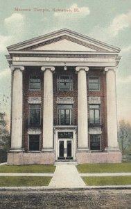 KEWANEE , Illinois , 1909 ; Masonic Temple