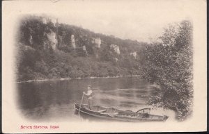 Herefordshire Postcard -  Seven Sisters, Ross  RS1713