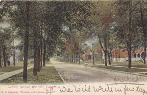 WINDSOR , Ontario , Canada , PU-1906 ; Victoria Avenue