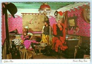 Buena Park, CA ~ KNOTT'S BERRY FARM Sexy Ladies GOLDIES PLACE  4x6 Postcard