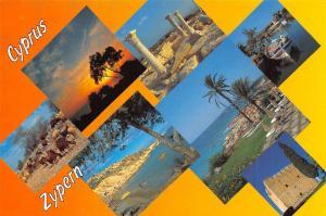 Cyprus Zypern Aphrodite's Island multiviews Panorama General view Shepherd