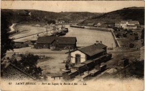 CPA St-BRIEUC - Port du Légué - Le Bassin a Flot (381360)