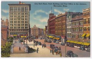City Hall Plaza, Worcester MA