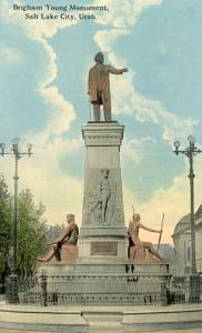 UT - Salt Lake City, Brigham Young Monument