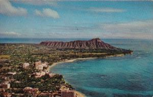 Hawaii Waikiki Beach and Diamond Head 1967