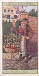 player Vintage Cigarette Card Cries Of London No 24 Windmills  1916