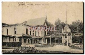 Sermaize les Bains Old Postcard casino and the source