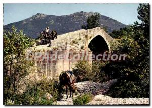 Modern Postcard Corsica Bridge Genoa From To From Around Sartene