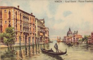 VENEZIA, Veneto, Italy, 1900-1910's; Canal Grande, Palazzo Franchetti