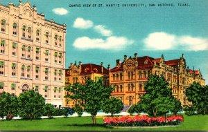 Texas San Antonio Campus View Of St Mary's University
