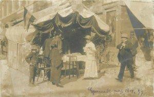 Vintage social history photo postcard note children`s day 1914 Kolozsvar Cluj ?