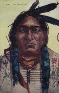 Chief Sitting Bull , 1900-10s