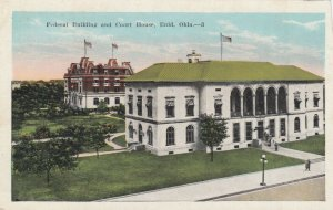 ENID, Oklahoma, 1900-10s; Federal Building & Court House