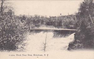 Black River View, WATERTOWN, New York, PU-1911
