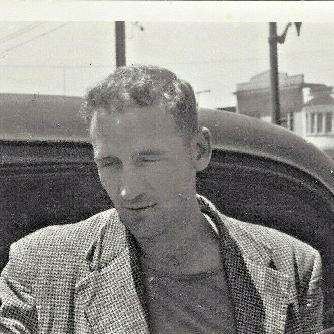 Neal Cassidy, San Francisco 1955 Photo Allen Ginsberg Fotofolio 1985 B&W