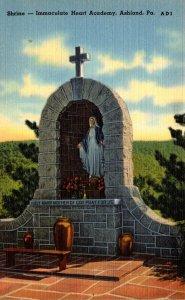 Pennsylvania Ashland The Shrine Immaculate Heart Academy