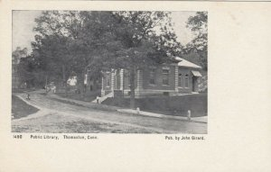 THOMASTON, Connecticut, 1901-07; Public Library