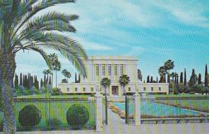 Arizona Mesa West View Of Mormon Temple East Main Street