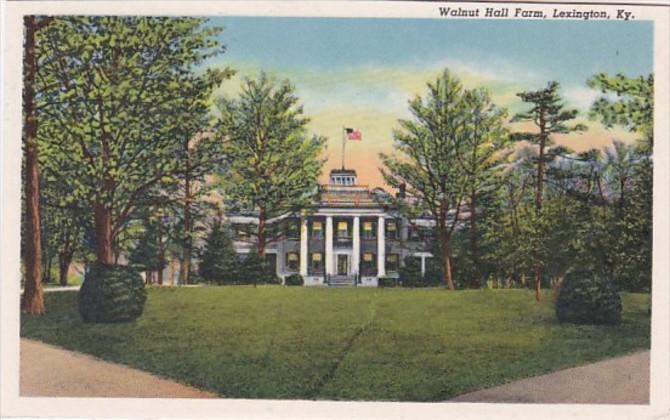 Kentucky Lexington Walnut Hall Farm