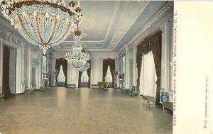 East Room, White House, Washington DC Divided Back