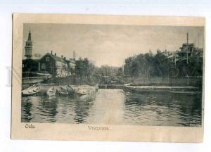 247127 FINLAND OULU Wenesatama Vintage postcard