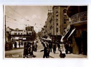 214038 LEBANON Beyrouth Weygand street Vintage photo postcard