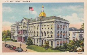 New Jersey Trenton State Capitol Curteich