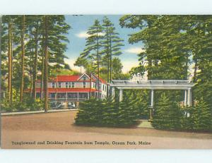 Linen TANGLEWOOD BUILDING Ocean Park Maine ME p0111