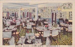 Interior Manor House Restaurant Moorestown New Jersey Curteich
