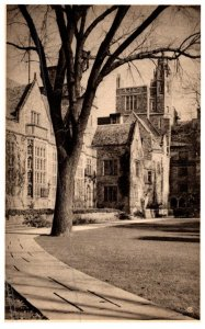 Connecticut New Haven ,  Saybrook College , from Branford Court