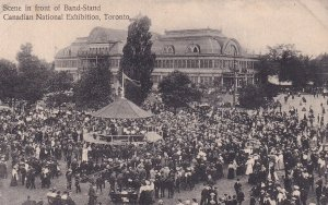 TORONTO, Ontario, Canada, 1900-1910s; Scene In Front Of Band-Stand, Canadian ...