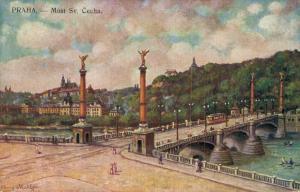 Czech Republic Svatopluk Čech Bridge 02.52