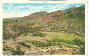 Manitou from Serpentine Drive, Manitou, Colorado, 1920s u...