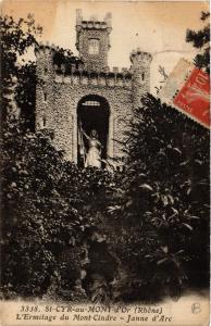 CPA St Cyr au Mont D'Or - L'Ermitage du Mont-Cindre- Janne D'Arc (572429)