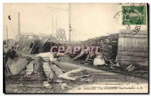 Old Postcard Ardoisieres Trelaze Ardoisi?res The defendants TOP