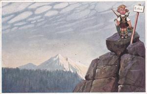 TUCK #985 ; Sommerurlaub im Gebirge , 00-10s