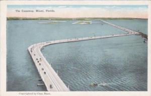 The Causeway Bridge Miami Florida