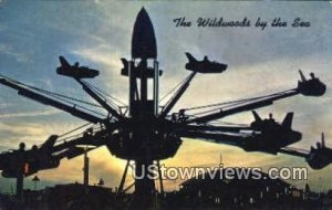 Riding the Satellite Jets, Hunt's Pier in Wildwood-by-the-Sea, New Jersey