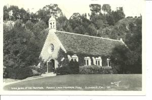 1920's - 1930's Forest Lawn Memorial Park, Glendale, California - RPPC