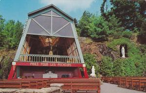 Vue Du Kiosque, Grotte Notre-Dame De Lourdes, Lachute, Quebec, Canada, PU-1986